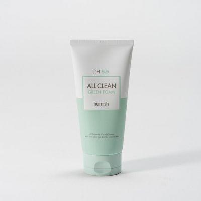 heimish allclean green foam - Neue koreanische Kosmetikmarken Heimish & Isntree