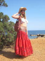 Ibiza Mode im luftigen Lagenlook