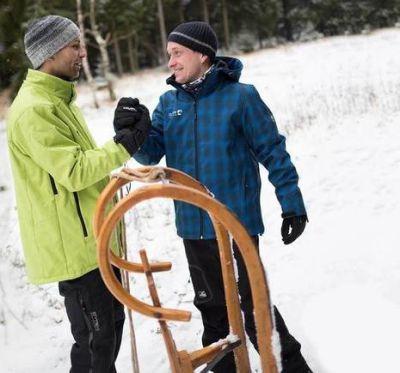 Passend für den Schnee - Winterbekleidung olé!