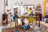 Hier tobt das wirkliche Leben: Der Esstisch spielt beim Einrichten eine zunehmend wichtige Rolle als kommunikativer Mittelpunkt.
