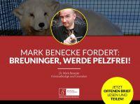 Kaufhaus soll pelzfrei werden: Kriminalbiologe Dr. Mark Benecke schreibt offenen Brief an Breuninger