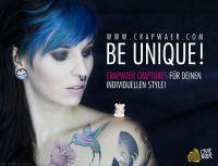 BE UNIQUE - crapwaer für Deinen individuellen Style!