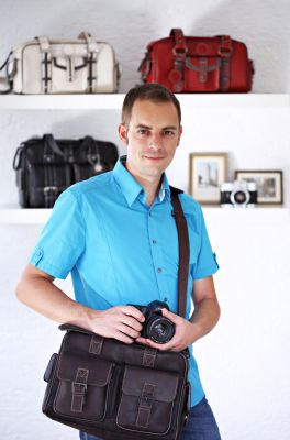 Christian Frey, Gründer von Shootbags Kamerataschen