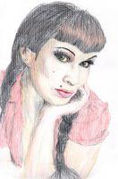 Old Mary Lou - Zeichnung