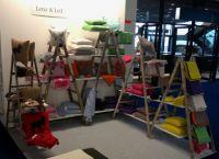 Lenz & Leif zeigte auf der Heimtextil seine Kollektion edler Strickaccessoires - Decken & Kissen