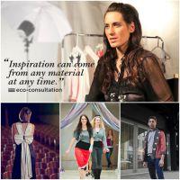 Der US-amerikanischen Upcycling Designerin, Lanni von (RE) geht es darum, Mode ohne Reue zu schaffen.
