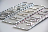 Namensschild Crystal Edition