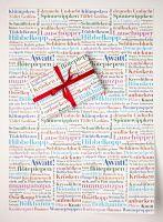 Ein einzigartiges Geschenkpapier für schöne Geschenke - Awatt! Format 50 x 70 cm