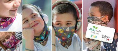 Kids Mund- und Nasenschutz-Loop ProtectMe von Albstoffe
