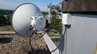 10GB/s Richtfunk über 3,8km für Ruhruniversität Bochum durch Omnitron Griese GmbH in Betrieb genommen