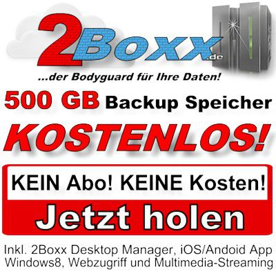 2Boxx Aktion Kostenlos