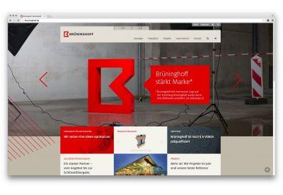 Mit der neune Website präsentiert sich Brüninghoff jetzt auch online im neu eingeführten Corporate Design. (Foto: Brüninghoff)