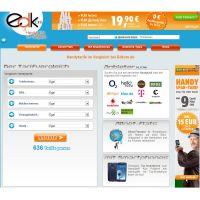 Screenshot Startseite www.edkom.de vom 5. Oktober 2012