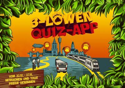 Ab dem 20. Oktober findet im Ländle das 3-Löwen-Takt-Quiz statt. Quiz-Spots sind die Haltestellen