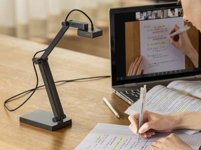 "IPEVO USB-Dokumentenkamera ""V4K PRO"" mit KI-gestützter Geräuschreduzierungstechnologie"