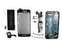 Alle Bauteile des Apple iPhone 5 im Fokus