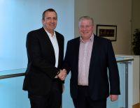 Eyal Waldman, Präsident und CEO Mellanox Technologies und Noel McKenna, CEO, Titan IC