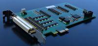 PCIeDIO – PCI Express IO Karte mit 32 optoisolierten digitalen I/O
