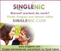Singlenic.com kostenlos anmelden