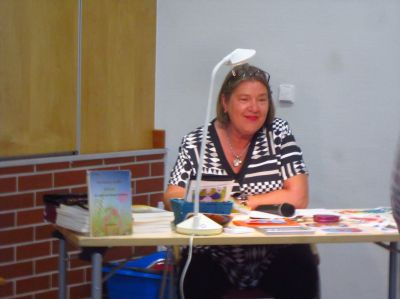Elli Fleckner Rochalla - Lesung Kulturhalle Friedberg