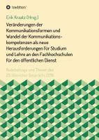 """""""Veränderungen der Kommunikationsformen ..."""" von Ralf Imhof u.a."""