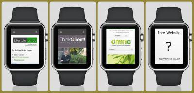 MIt neuroresponsive Design machen Websites auch auf der Apple Watch eine gute Figur