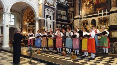 Chorfestival Antwerpen 2014: Choeur de Bulle, Schweiz