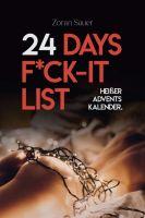 24 Days F*ck-it List - Der heiße Adventskalender für Paare
