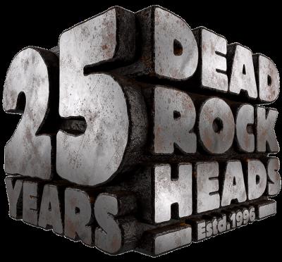25 YEARS DEAD ROCK HEADS - Estd.1996 by Ole Ohlendorff