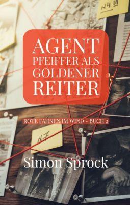 """""""Agent Pfeiffer als goldener Reiter"""" von Simon Sprock"""