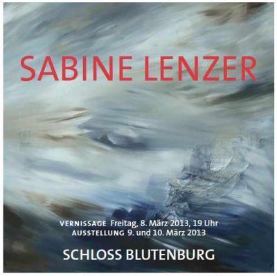 """""""Sabine Lenzer - abstract art"""" Schloss Blutenburg"""