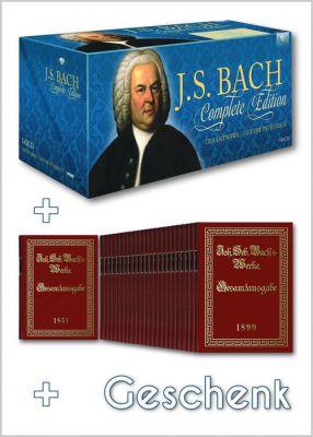 """""""Bach 4 You"""" bietet das aktuelle Gesamtwerk an Musik von Bach an. Dazu gibt es die Alte Bach-Gesamtausgabe und noch ein Präsent."""
