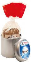 Baumkuchen in der Werbedose Minitin – eine Geschenkdose für  die Advent- und Weihnachtszeit.