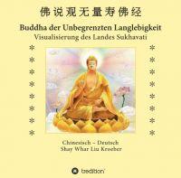 Buddha der Unbegrenzten Langlebigkeit - Visualisierung des Landes Sukhavati