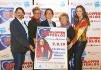 Herzklopfen Kostenlos Team 2019 - Iris Lukes, Andreas Dornheim, Dr. Julia Dünkel, Katharina Herz