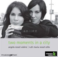 """Das neue Album des Rossel-Duos """"Two moments in a city"""""""