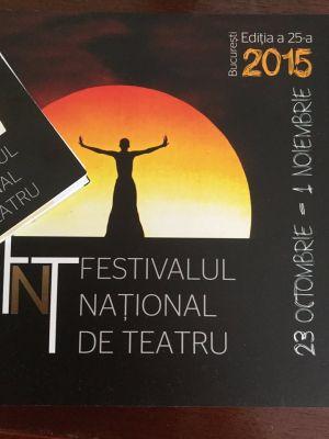 25 Jahre Nationales Theaterfestival Bukarest - Jubiläumsausgabe 2015