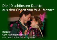 Papageno und Papagena singen ihr Liebesduett Pa-Pa-Pa-Pa - Zauberflöten Quartett