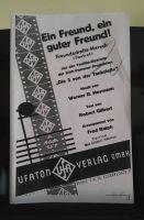 """Original-Verlagskopie von """"Ein Freund, ein guter Freund"""""""