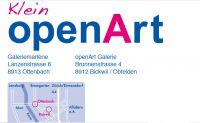 Einladung zur Klein openart mit Kunstwerken von 30 namhaften Künstler(innen)