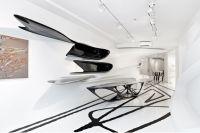 """Eröffnet: Zaha Hadid Ausstellung """"Abstracting The Landscape"""" Galerie Gmurzynska Zürich  bis 31. Juli 2021"""