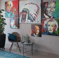 Einige ausgewählte Portraits der Künstlerin Ulla Mersch aus Paderborn