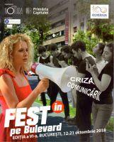 FESTin pe Bulevard 2018 in Bukarest