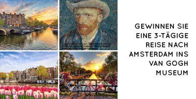 Gewinnen Sie mit FloraPrima eine 3-tägige Reise nach Amsterdam ins van Gogh Museum