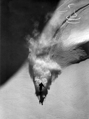 Lech Zürs Arlberg Winter Skilauf  von Toni Sailer