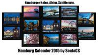 HAMBURG Kalender 2015 by SentaCS
