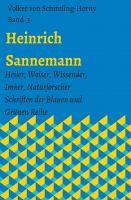 """""""Heinrich Sannemann BD 3"""" von Volker von Schintling-Horny"""