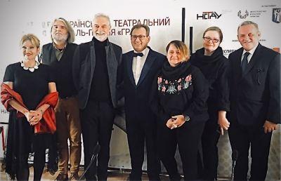 GRA mit inter/nationalen Juroren Ionescu, Irmer, Topp, Strutynskyi, Lypkivska, Lashkevych, Bala