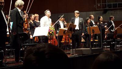 Josef Ziga und das Staatsorchester Braunschweig unter der Leitung von GMD Srba Dinic