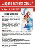 """""""Jugend schreibt 2020"""" Jetzt mitmachen!"""